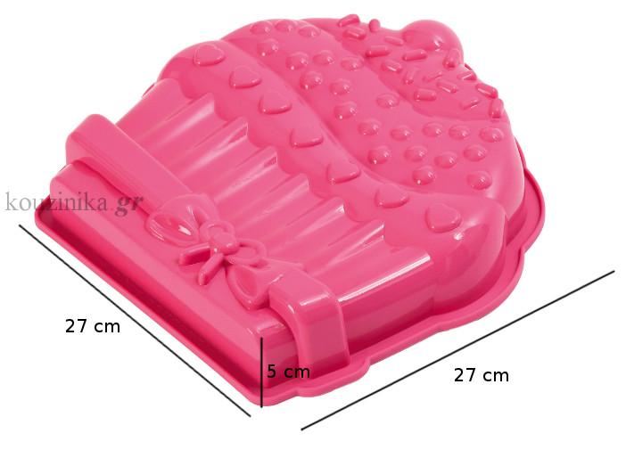 Φόρμα σιλικόνης Pavonidea Cup Cake FRT 170
