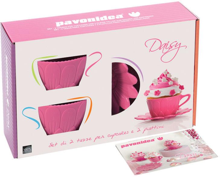 Φορμάκια σιλικόνης για cupcakes Pavonidea Daisy FRT 181