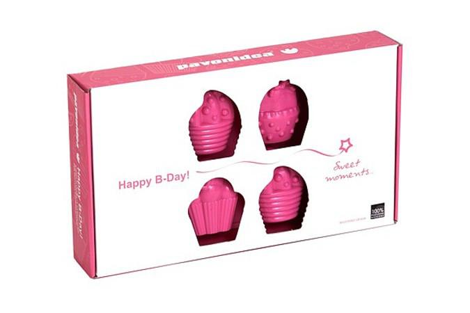 Φόρμα σιλικόνης 8 θέσεων Pavonidea Happy Birthday FR 080