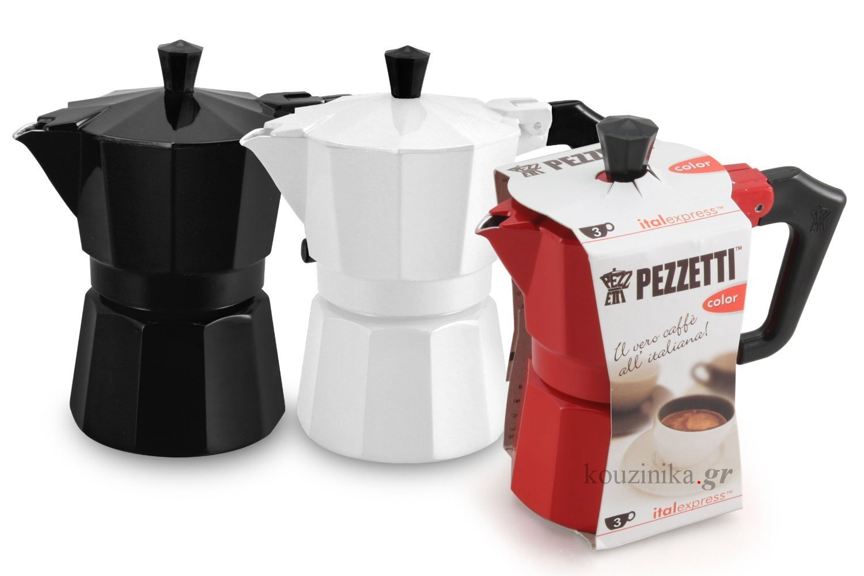 Καφετιέρα espresso 3 φλ. Italexpress