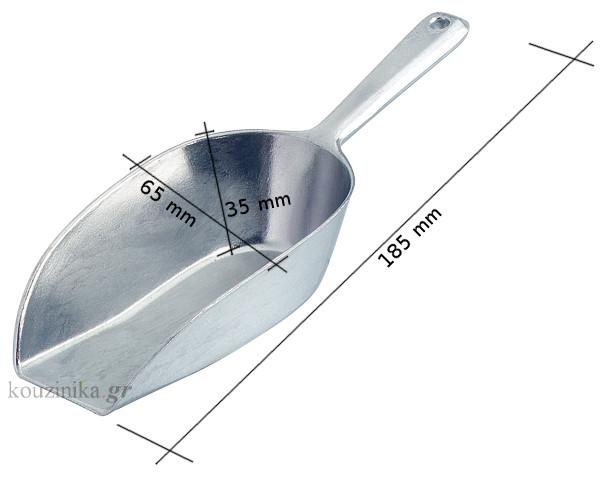 Σέσουλα αλουμινίου 185 mm