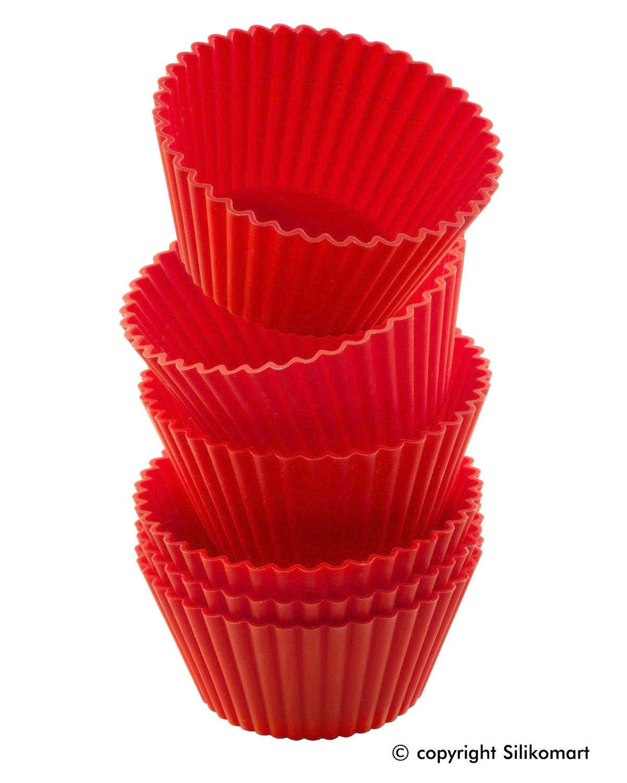 Σετ 6 φορμάκια σιλικόνης Cupcake CUP02/C GG