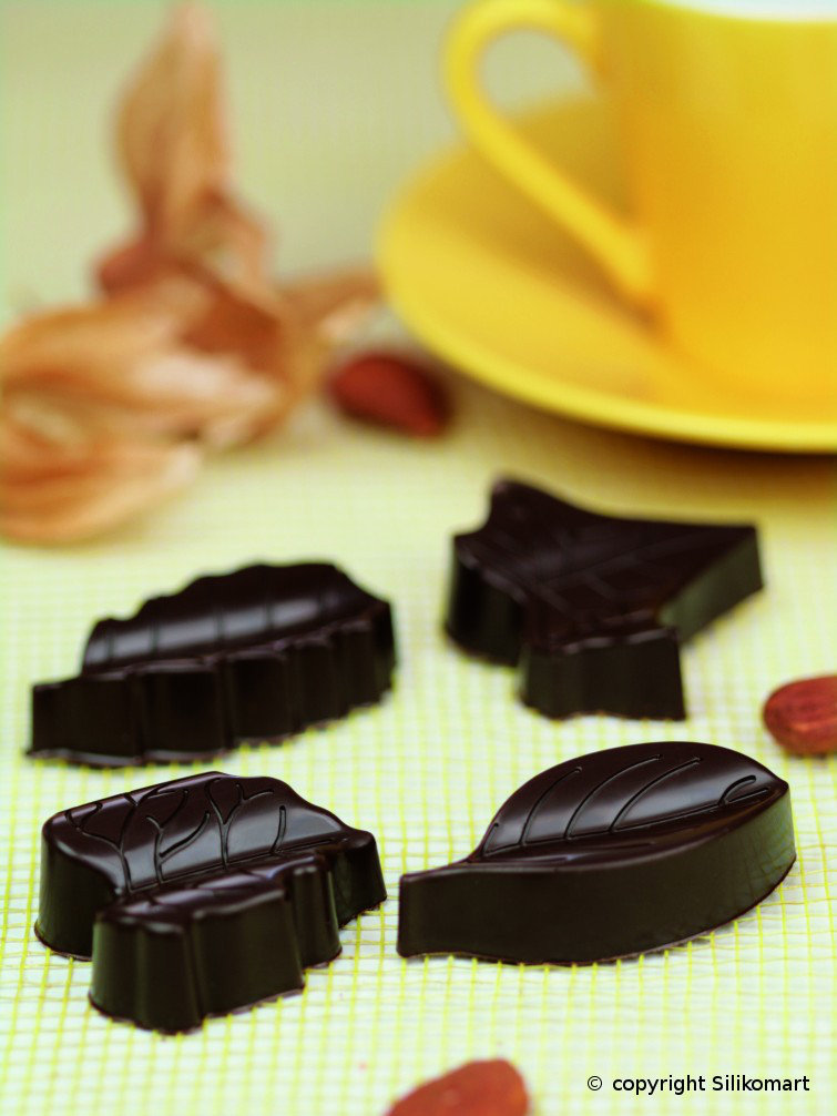 Φόρμα σιλικόνης για σοκολατάκια Nature SCG 10