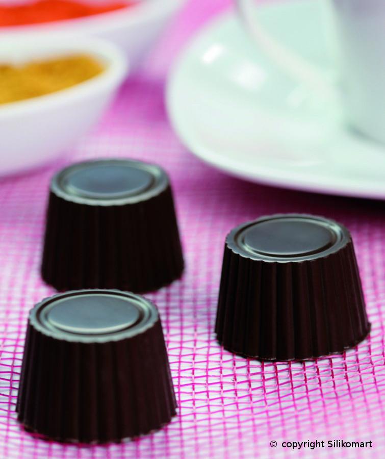 Φόρμα σιλικόνης για σοκολατάκια Praline SCG 07