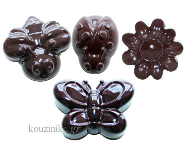 Φόρμα σιλικόνης για σοκολατάκια SpringLife SCG 24