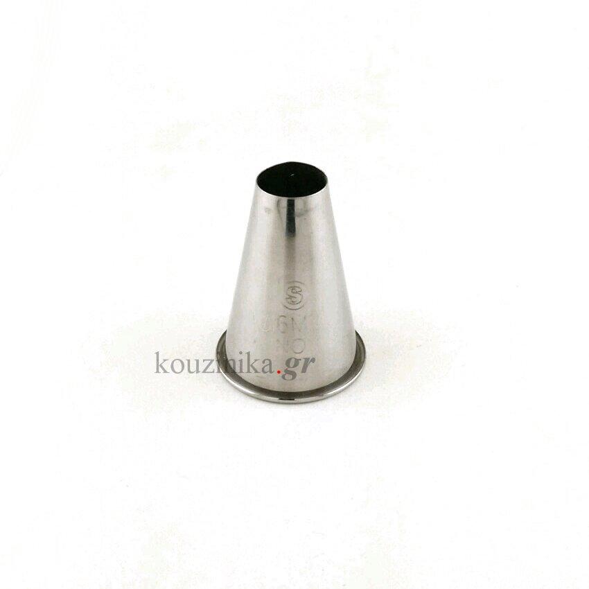 Μύτη κορνέ ανοξείδωτη 16 mm