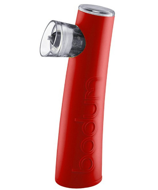 Round Red ηλεκτρικός μύλος πιπεριού-αλατιού Bodum