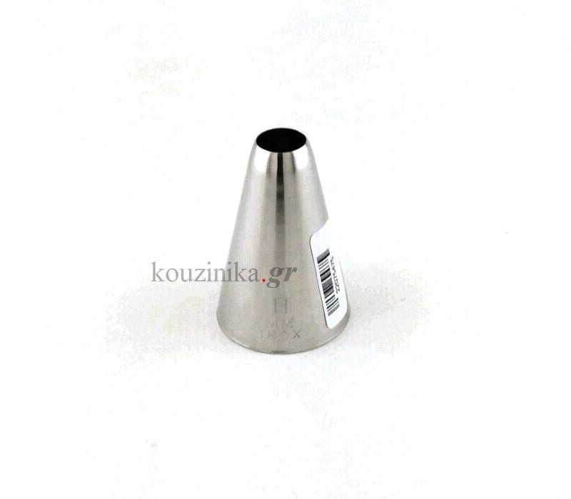 Μύτη κορνέ ανοξείδωτη ίσια 11 mm