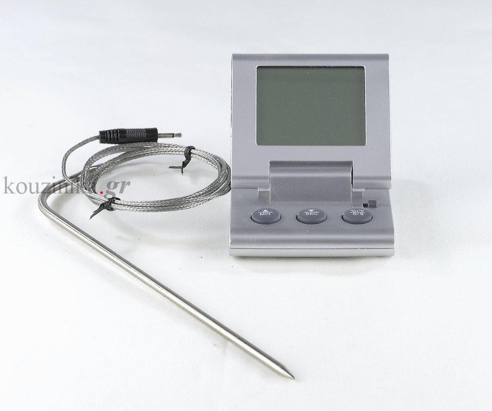 Ηλεκτρονικό θερμόμετρο μαγειρικής με καλώδιο
