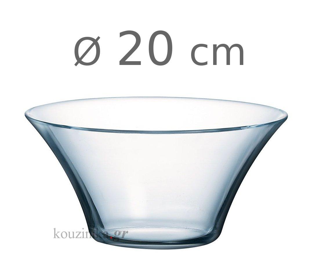 Μπολ γυάλινο Salad Club Luminarc 20 cm