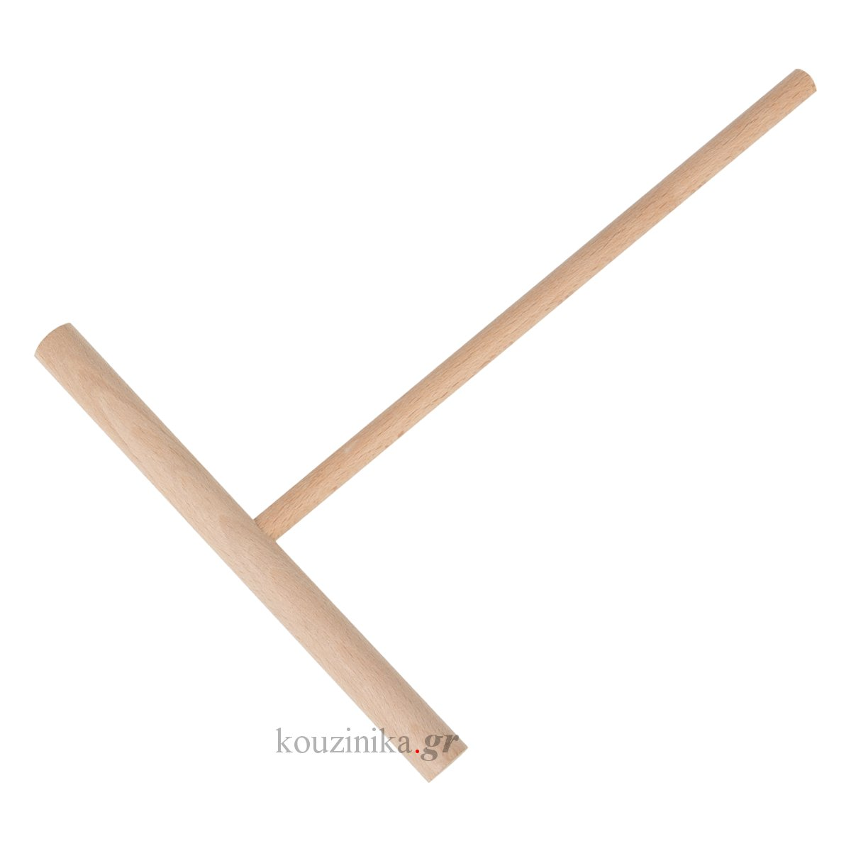Ξύλινο εργαλείο απλώματος κρέπας σε σχήμα Τ