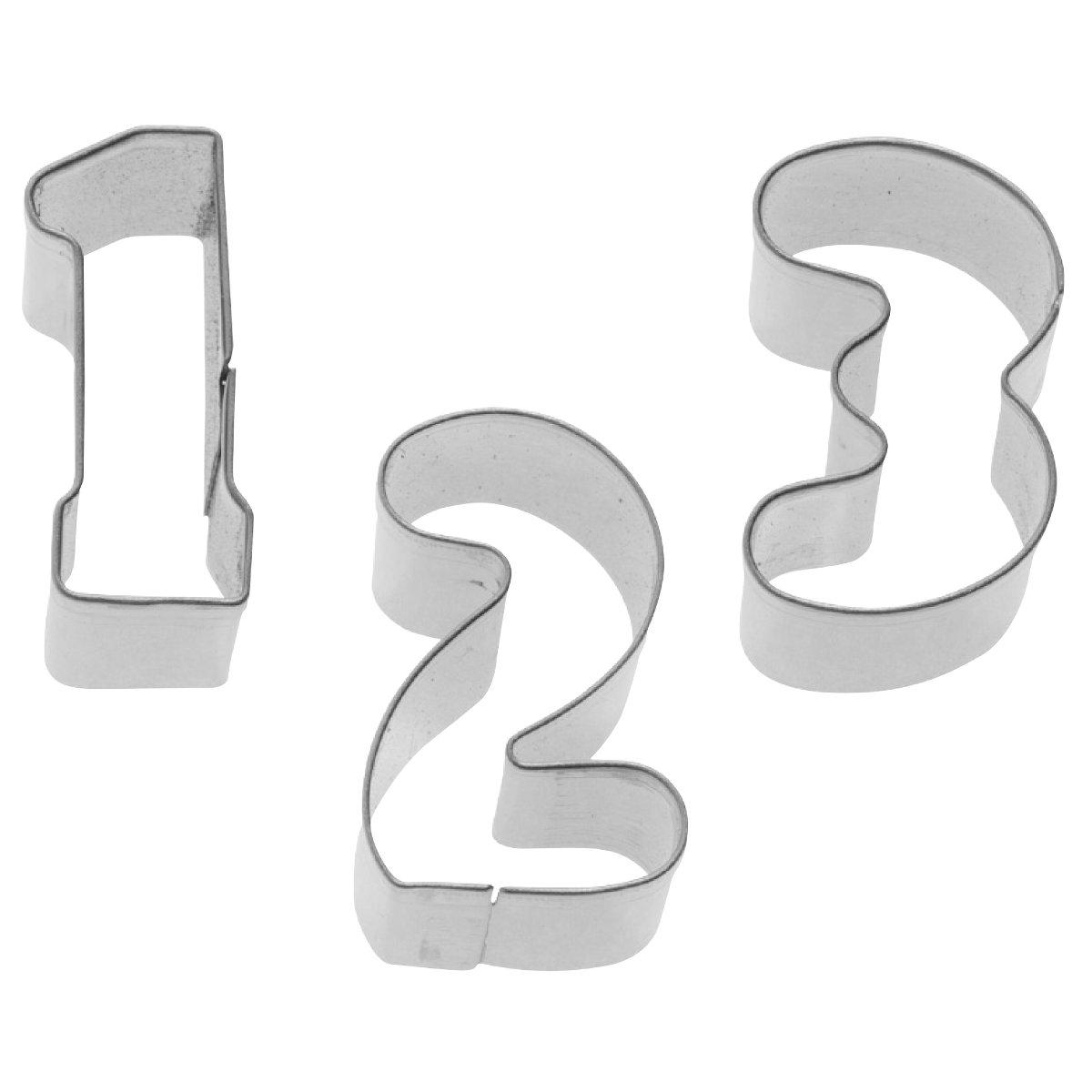 Κουπάτ ανοξείδωτα αριθμοί 0-9