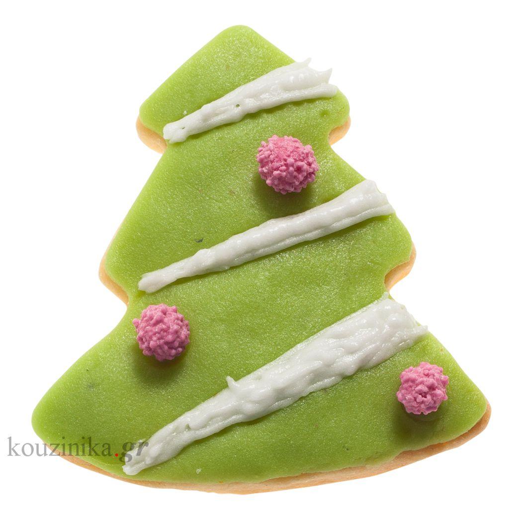 Κουπάτ ανοξείδωτο Χριστουγεννιάτικο δέντρο 2D