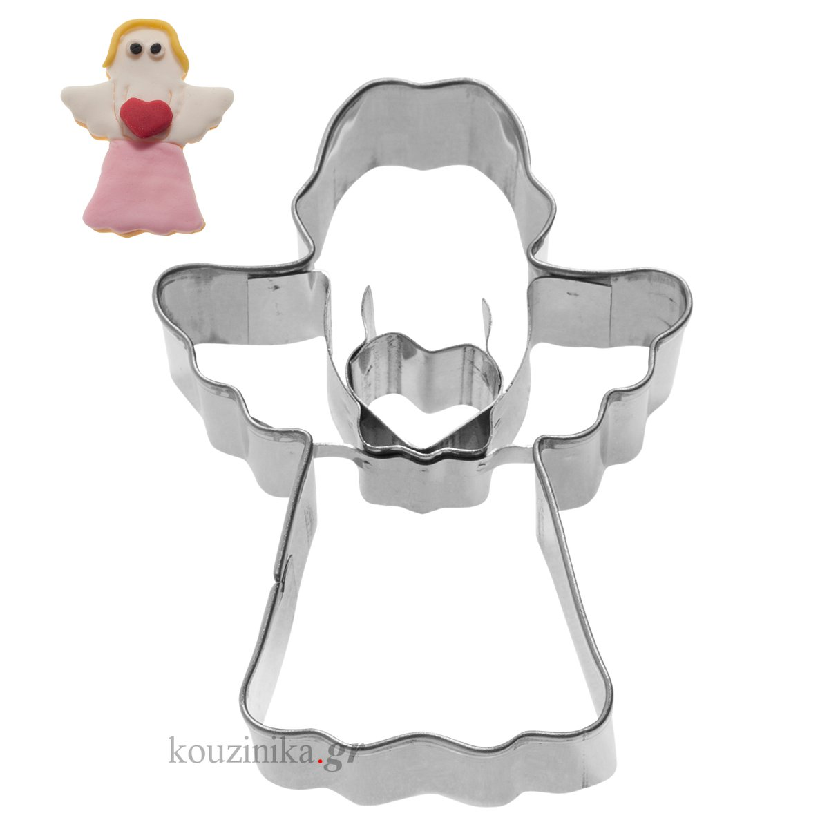 Κουπάτ ανοξείδωτο αγγελάκι 2D