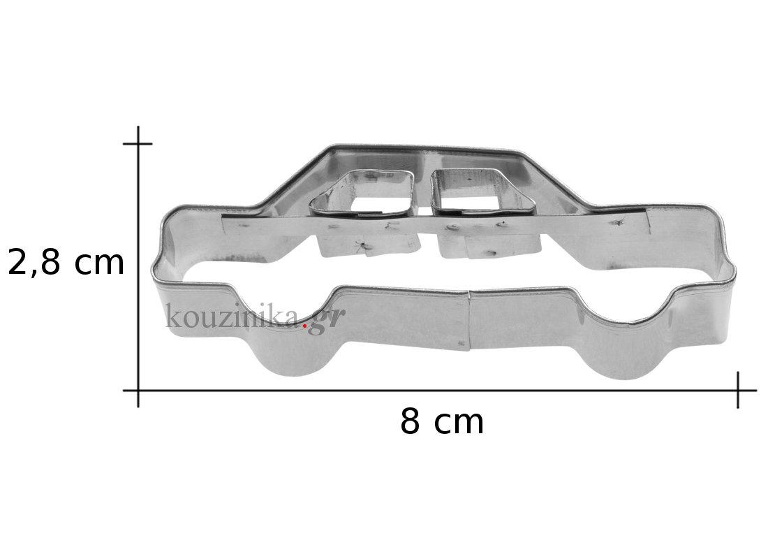 Κουπάτ ανοξείδωτο αυτοκίνητο 2D