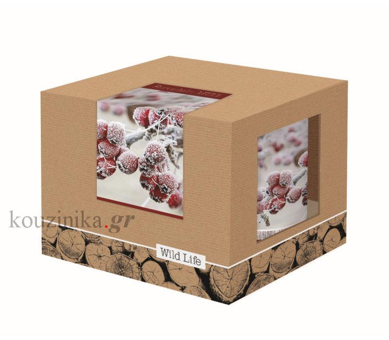 Wild Life  κούπα πορσελάνη Red Berries 350 ml
