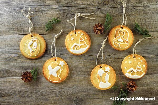 Φόρμα σιλικόνης Silikomart My Holidays Cookies HSH09