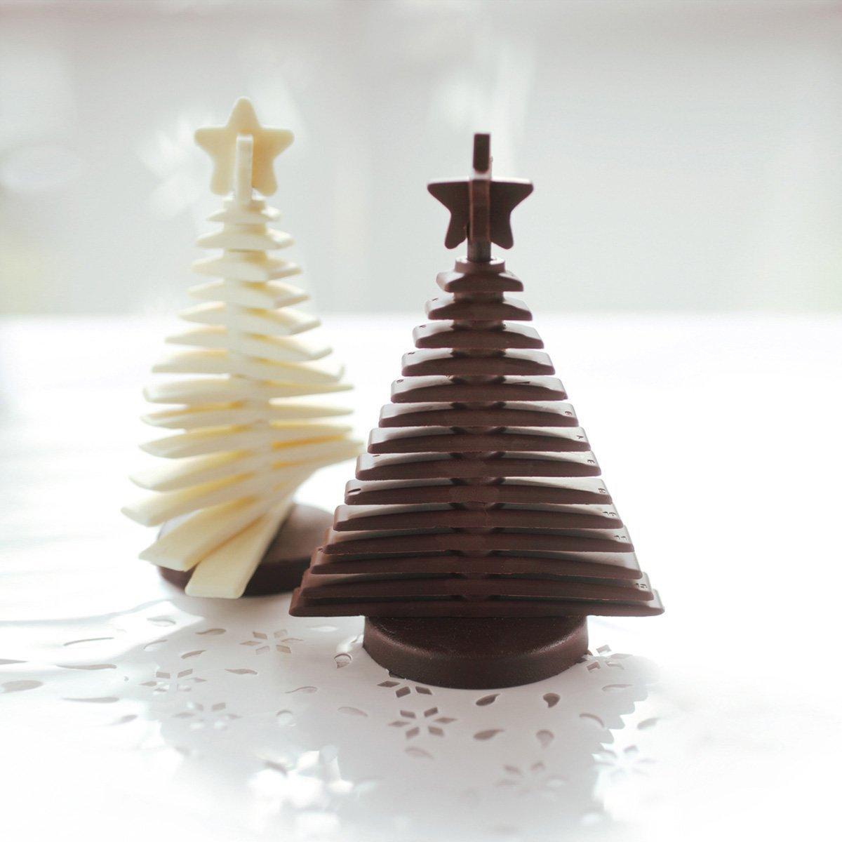 Φόρμα σιλικόνης χριστουγεννιάτικο δέντρο Silikomart 3D Tree Choc