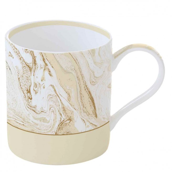 Κούπα πορσελάνη Malachite Beige 350 ml