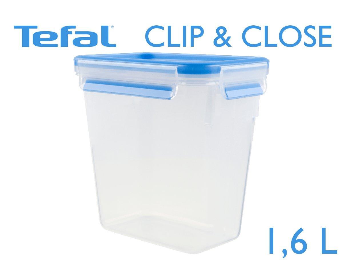 Tefal Clip & Close φαγητοδοχείο 1,6 L