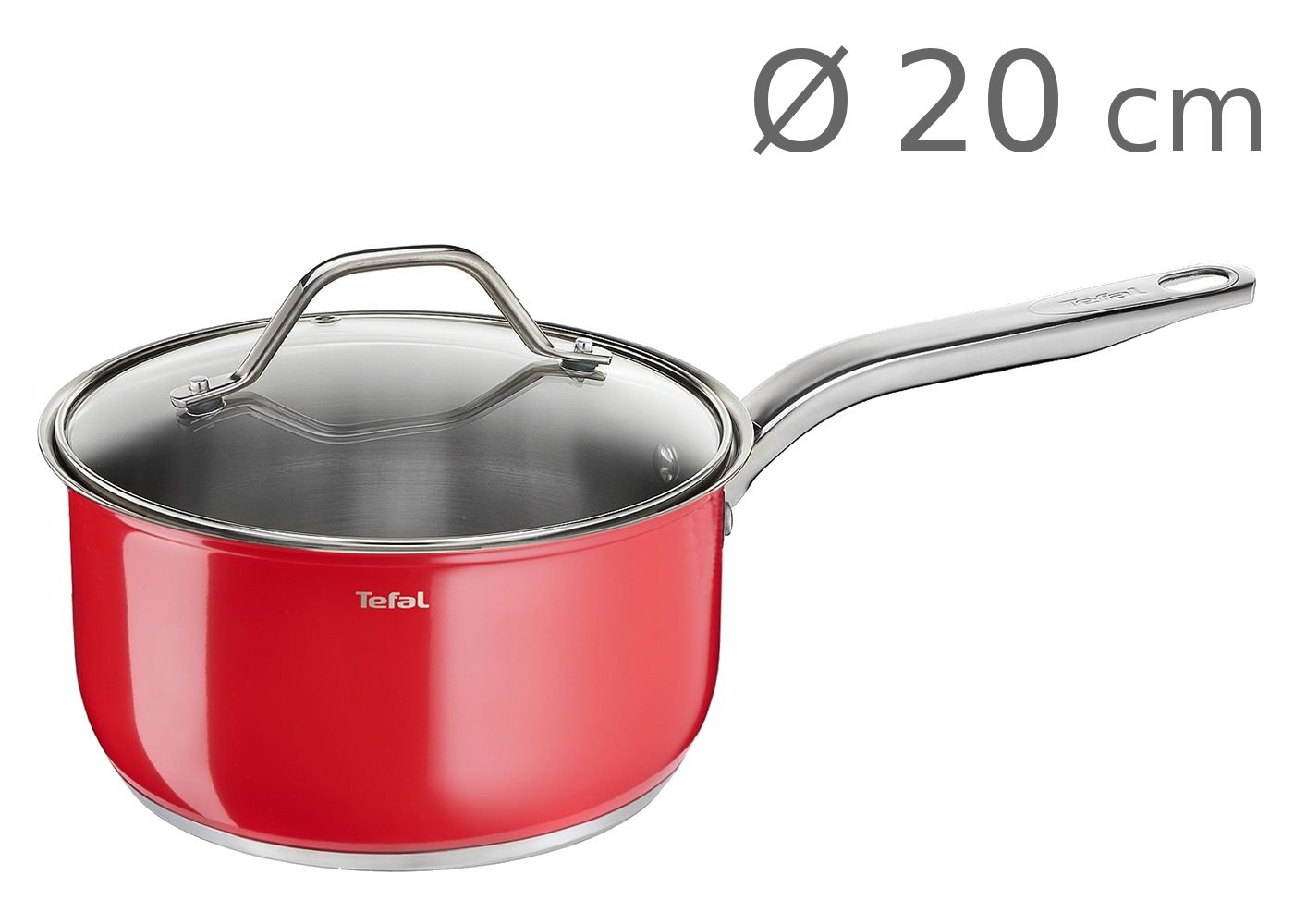 Κατσαρόλα Νο 20 Tefal Intuition Colors 2,5L
