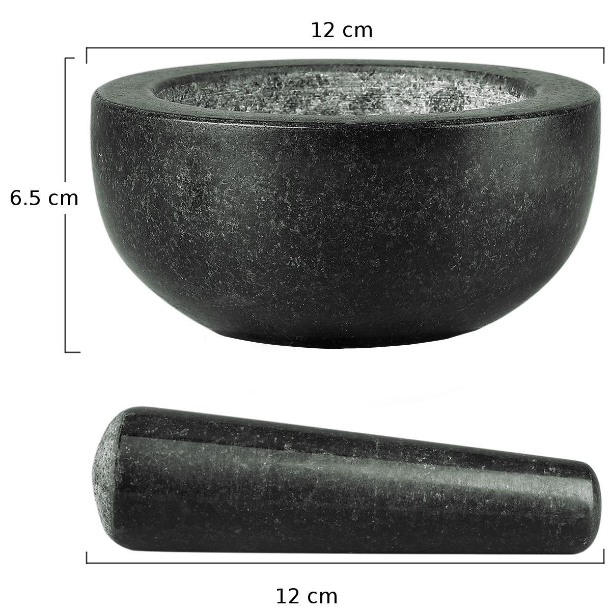 Γουδί και γουδοχέρι από γρανίτη Φ 12 cm