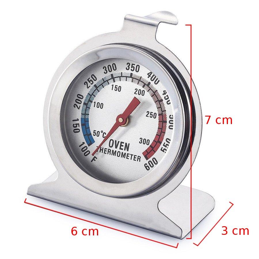 Θερμόμετρο φούρνου ανοξείδωτο 50-300 °C