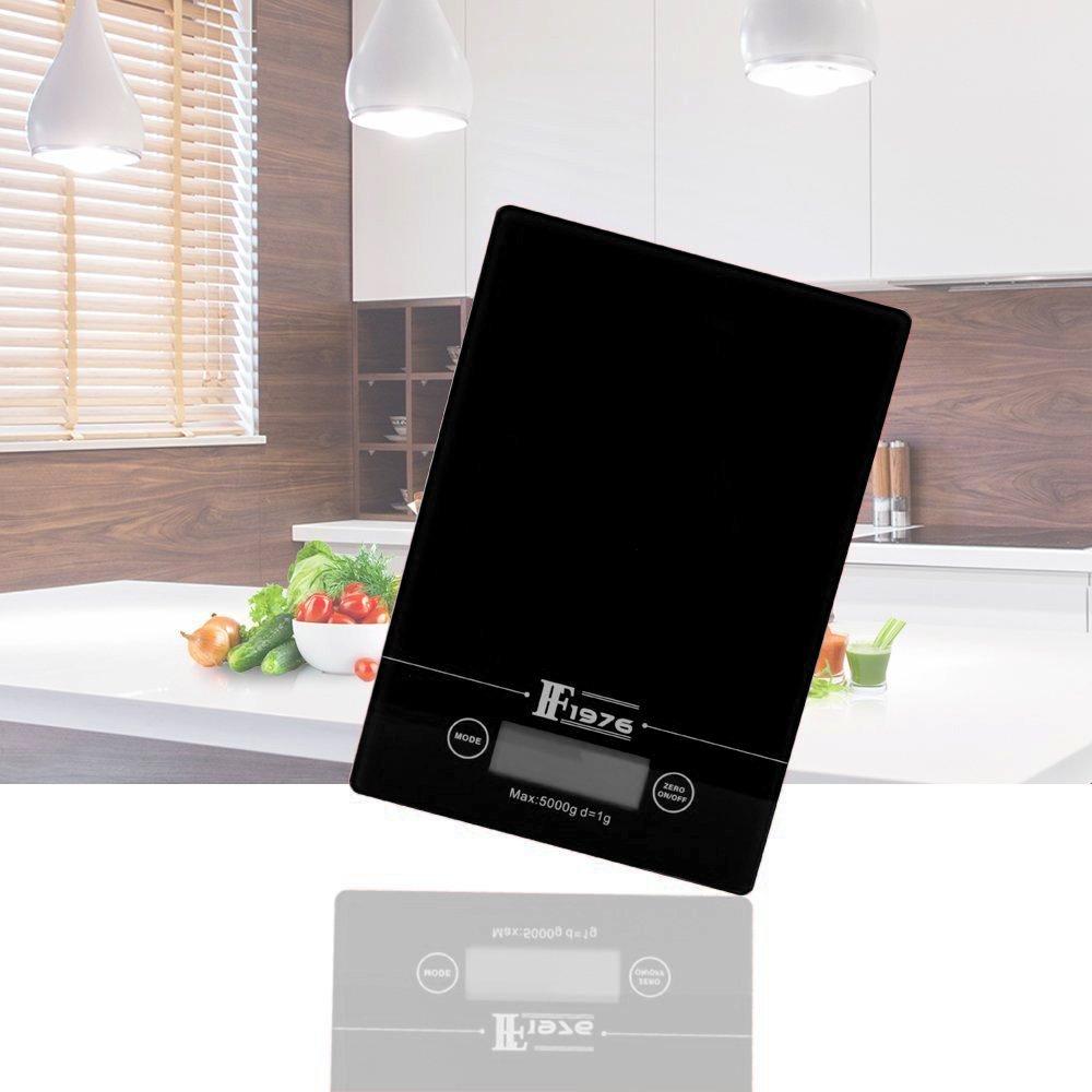 Ζυγός κουζίνας ψηφιακός γυάλινος 5 kgr