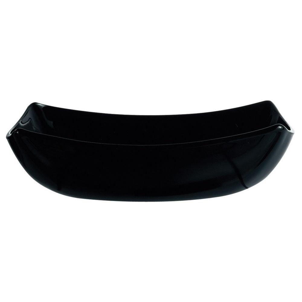 Πιάτο βαθύ τετράγωνο μαύρο Luminarc Delice 20x20 cm