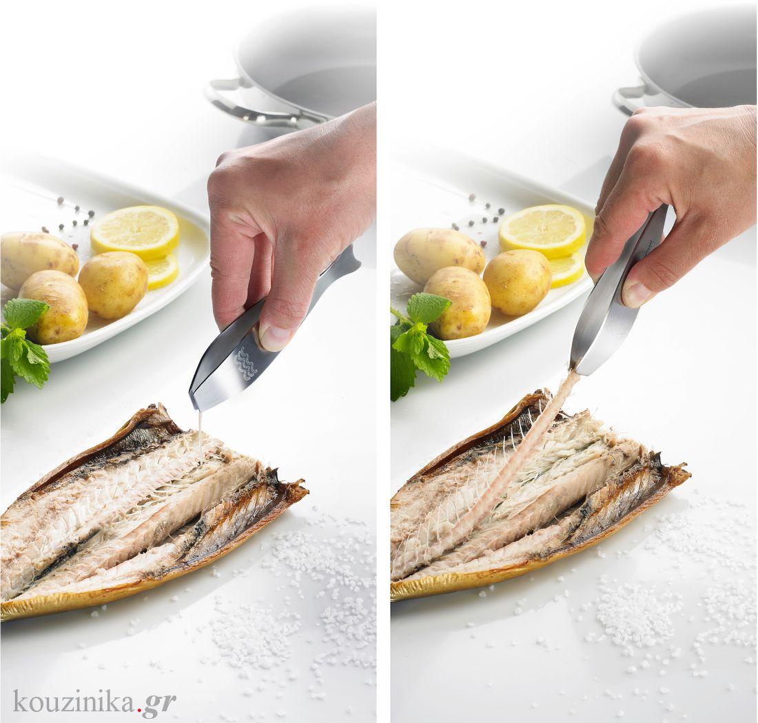 Τσιμπίδα για κόκκαλα ψαριών No 6608