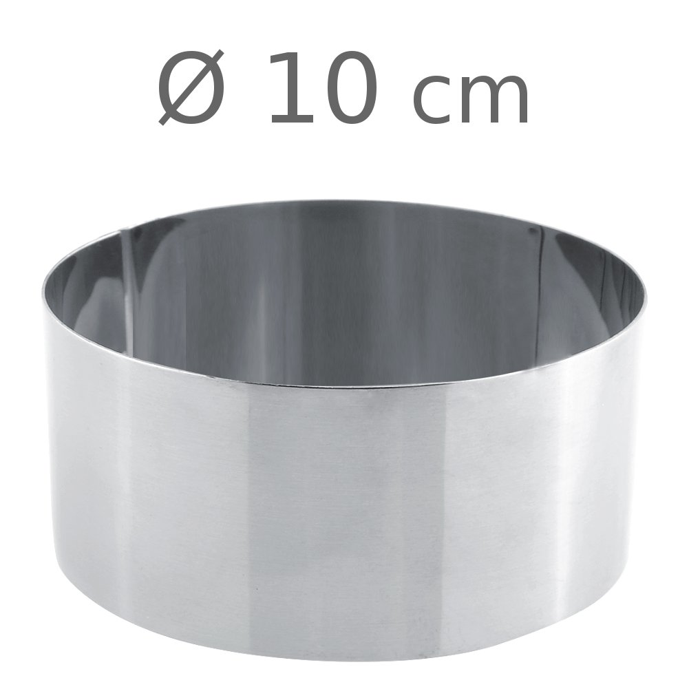 Στεφάνι ανοξείδωτο στρογγυλό 10x5
