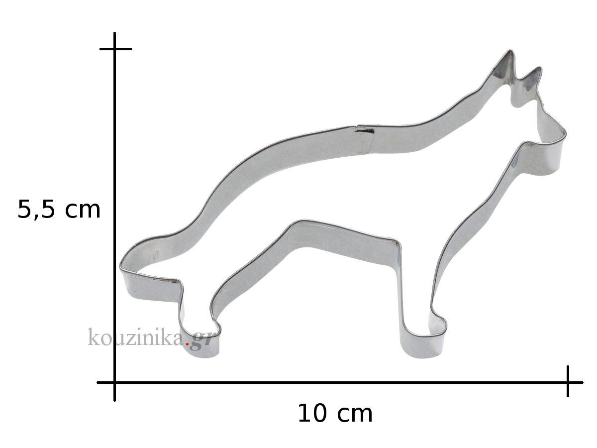 Κουπάτ ανοξείδωτο σκύλος-αλεπού