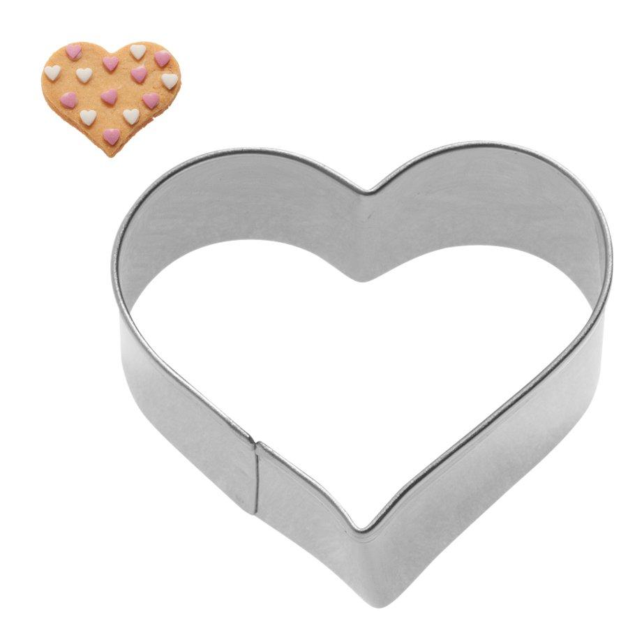 Κουπάτ ανοξείδωτο καρδιά