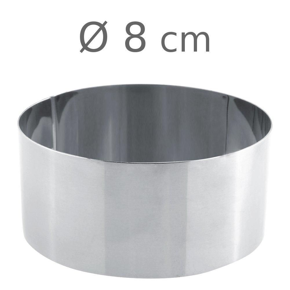 Στεφάνι ανοξείδωτο στρογγυλό 8x5