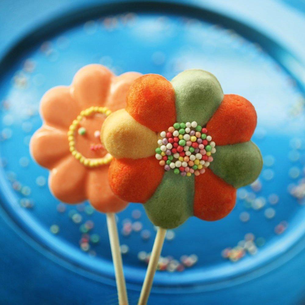 Φόρμα σιλικόνης για γλειφιτζούρια Daisy Pop Lolli POP04