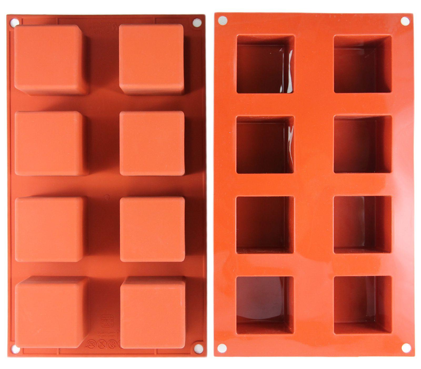 Φόρμα σιλικόνης 8 θέσεων Silikomart Classic Cube SF104