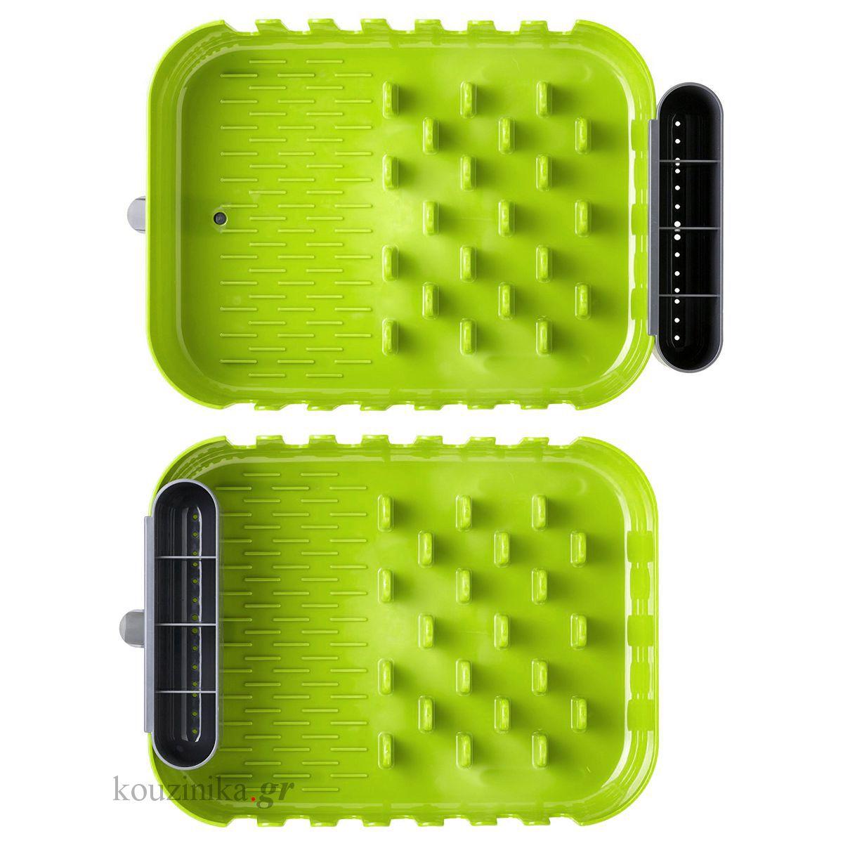 Πιατοθήκη πράσινη πλαστική Rengo by Vigar