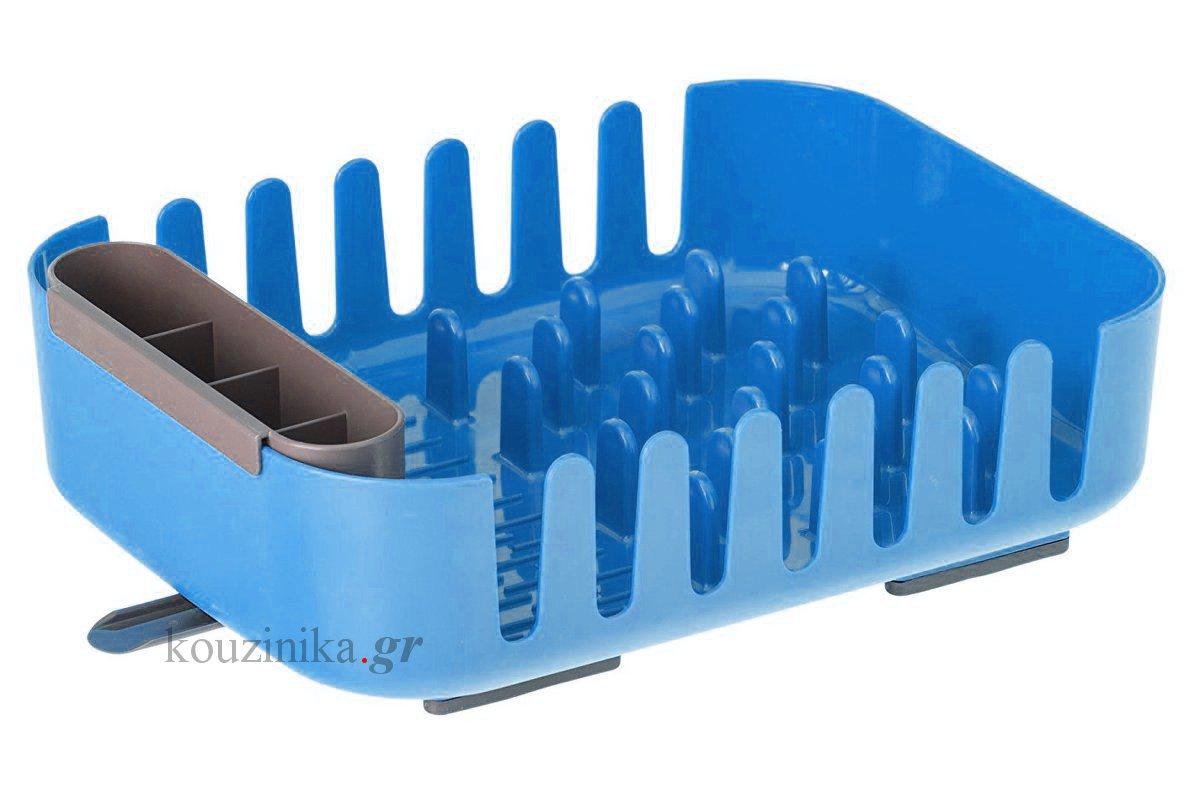 Πιατοθήκη μπλε πλαστική Rengo by Vigar