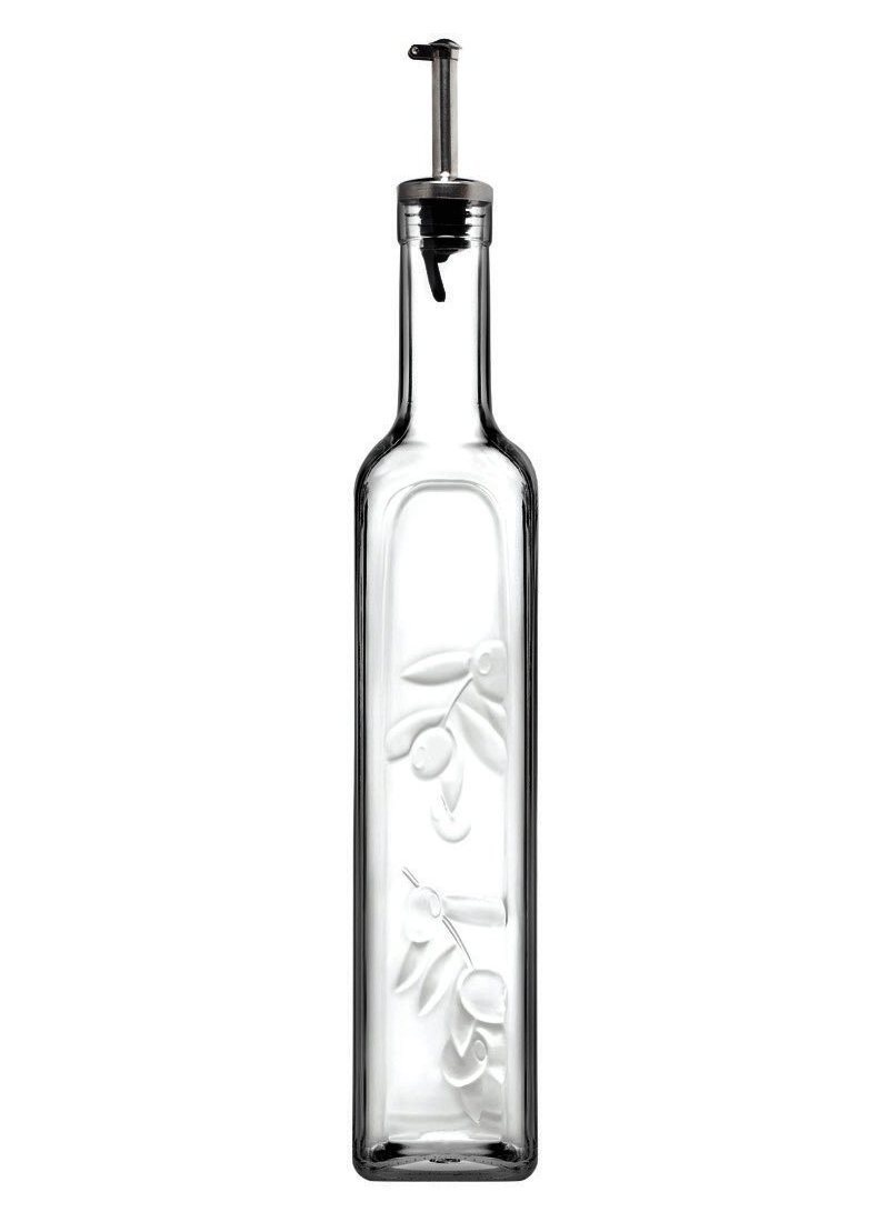Homemade γυάλινο μπουκάλι λαδιού-ξυδιού 500 ml