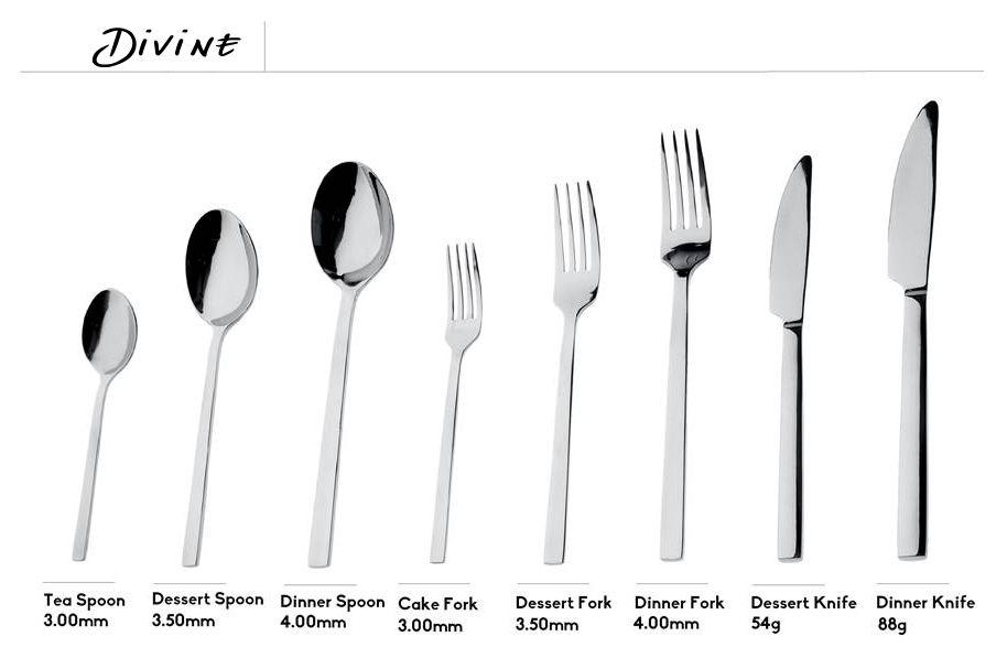 Κουτάλι φαγητού ανοξείδωτο Espiel Divine