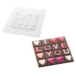 Καλούπι για σοκολάτα 901624 I Love You