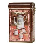 Antic μεταλλικό κουτί καφέ με καπάκι ασφαλείας