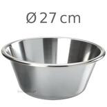 Μπωλ κωνικό Inox 18/10 Φ 27cm-4L
